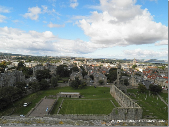 St. Andrews. Catedral. Panorámicas desde Torre de St. Rules-PA080443