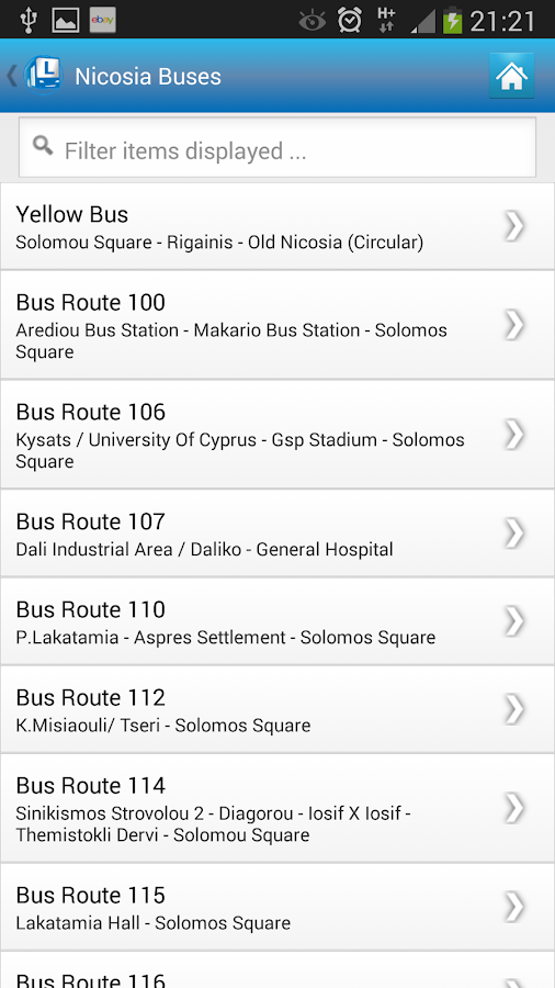 Cyprus By Bus Lite- screenshot