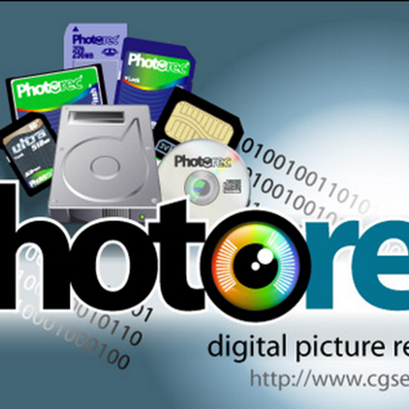 PhotoRec, Digital Picture and File Recovery.