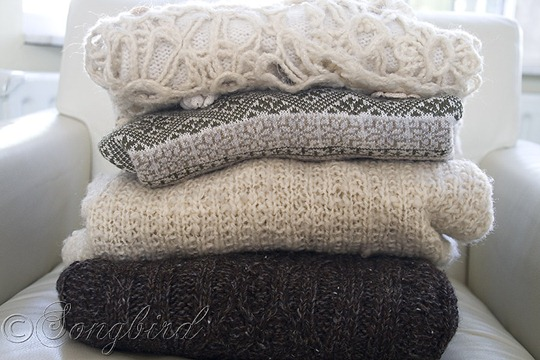 Fall DIY Sweater Pillows 7
