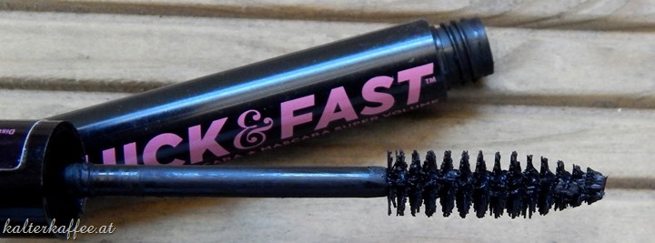 Soap & Glory Thick & Fast Volume Mascara brush