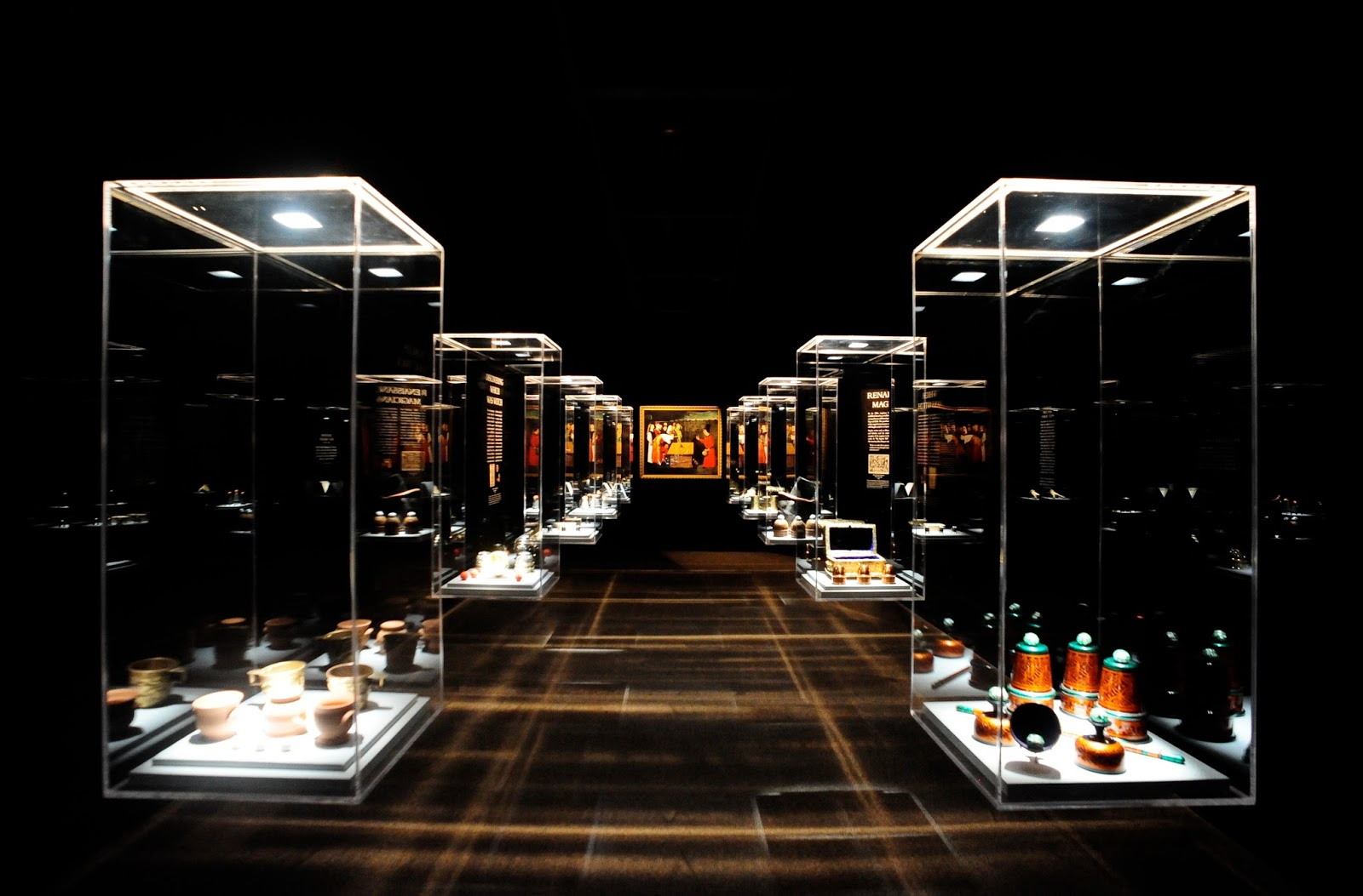 Exhibition Display Design : Revealing process to relieve museum visitor boredom