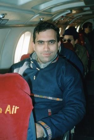 Imagini Nepal: in avion Buddha Air spre Everest