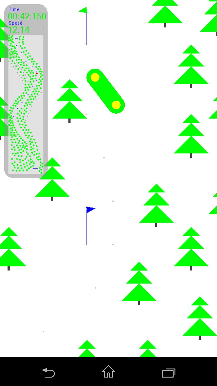Snowboard Fingers screenshot #2