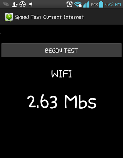 SPEED TEST WIFI 3G INTERNET 2G