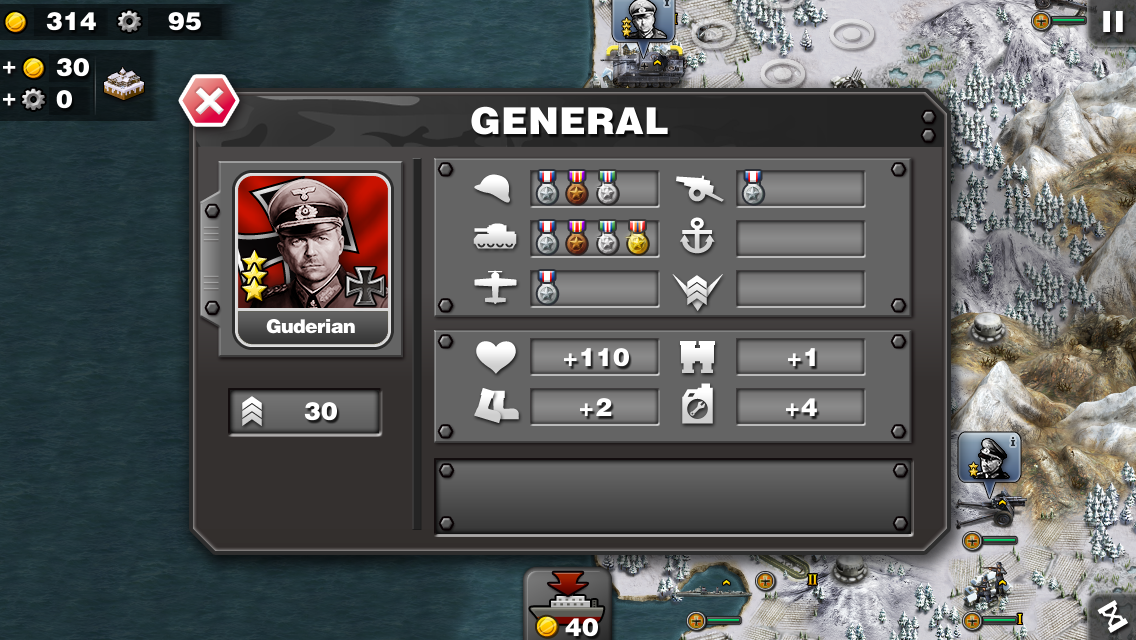 Glory of Generals HD- screenshot