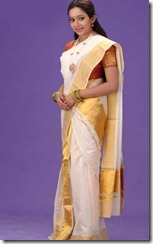 chandra_laksmanan_in_kerala_saree