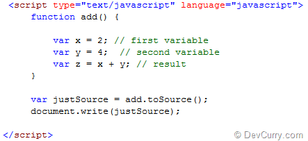 javascript tosource