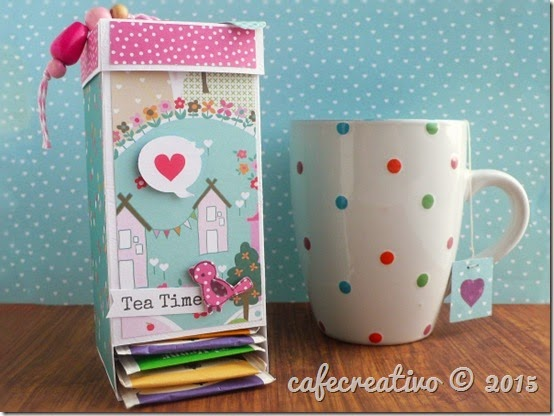 cafecreativo - craft asylum - Tea Bag Dispenser tutorial