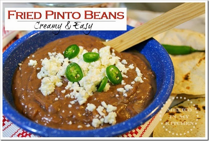 Fried Pinto Beans | Quick and Easy recipe