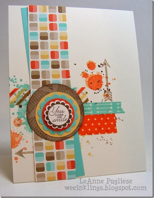 LeAnne Pugliese WeeInklings A Round Array Gorgeous Grunge Stampin Up
