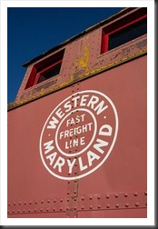 Hagerstown Roundhouse - Western Mayland Caboose
