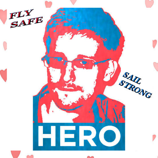 text says FLY SAFE and SAIL STRONG