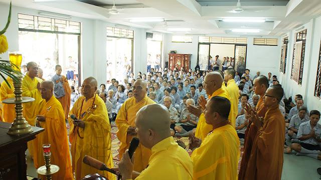 DSC06406 Lễ Hiệp kỵ   Lễ Huý Nhật Cư sĩ Sáng lập viên GĐPT Việt Nam   Tâm Minh Lê Đình Thám