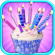 Birthday Candles & Cupcakes Maker FREE