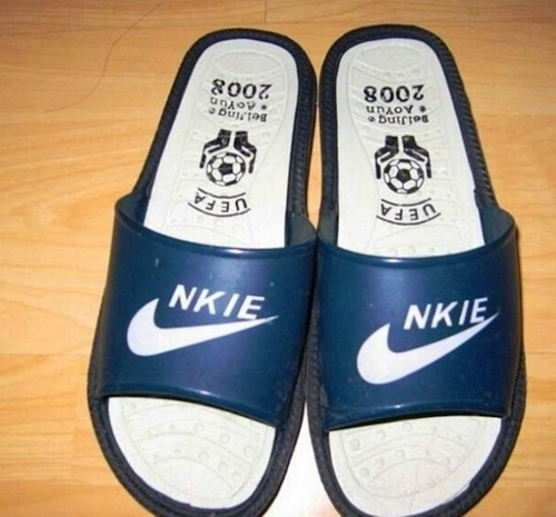 While these knock-off Nikes would never be mistaken for the real thing,  many factories in Putian, China make such high-quality counterfeit shoes  that the ...
