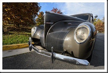 Katie's Cars and Coffee - Lincoln Zephyr