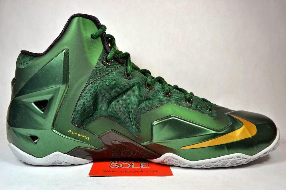 super popular 7cd3a 71dc2 ... Nike LeBron 11 8211 SVSM Away 8211 Detailed Look ...
