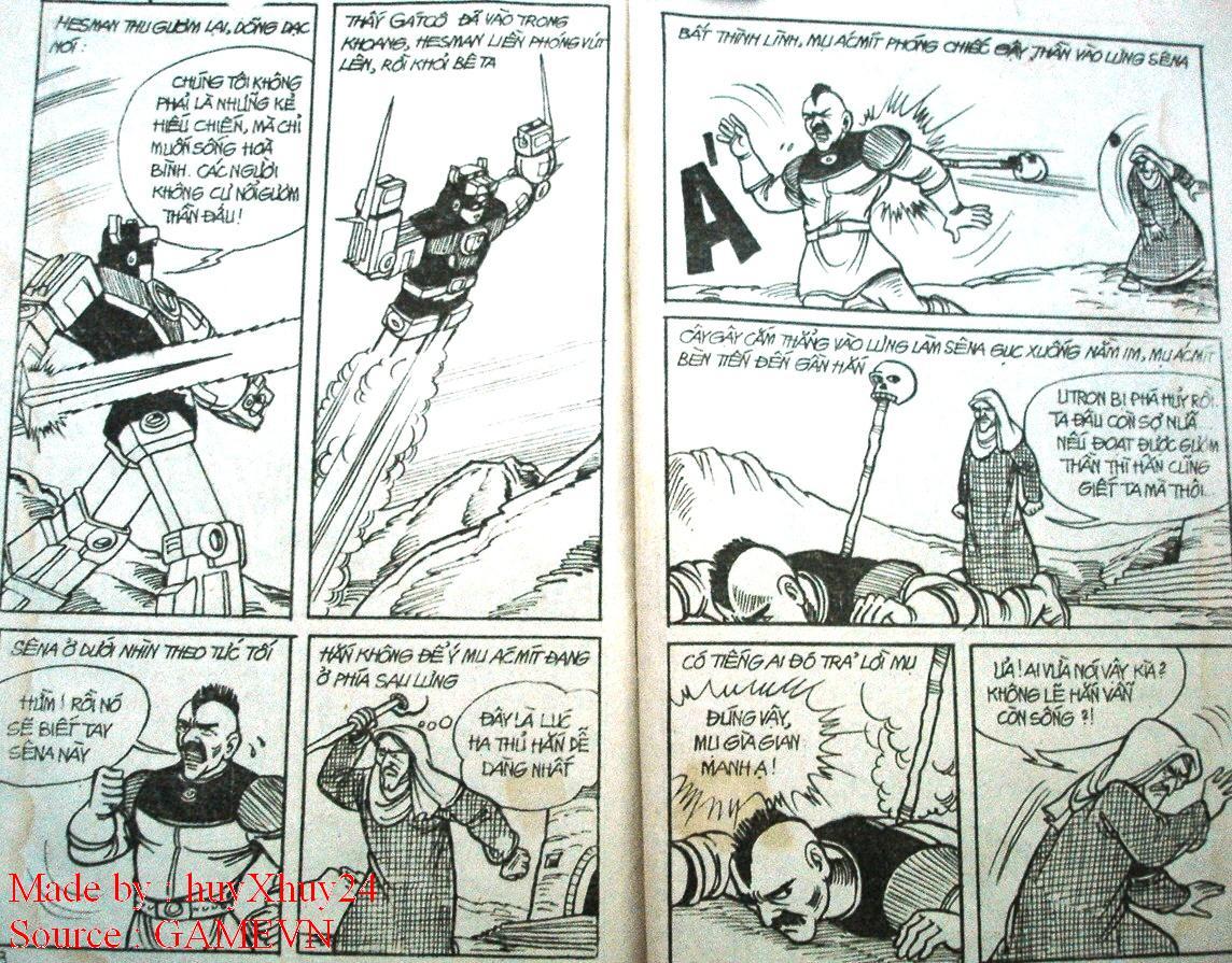 Dũng Sĩ Hesman chap 26 trang 33