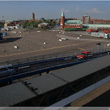 Trelleborg - Hafen, die letzten Autos fahren auf die Fähre