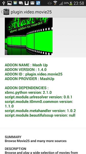 玩免費遊戲APP|下載XBMC ADDONS EXPLORER app不用錢|硬是要APP