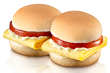 Burger King Breakfast BK SHOTS™ Tomato Benny