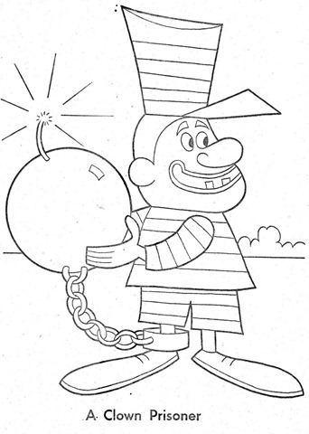 palhaço-colorir-Clowns To Color-coloring page-00013