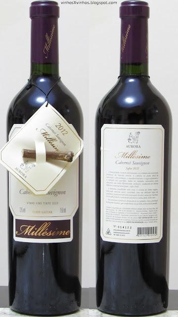 vinho aurora millesime