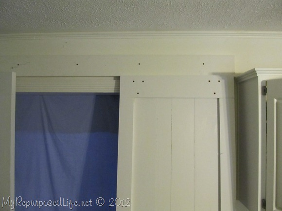 DIY Faux Barn Door