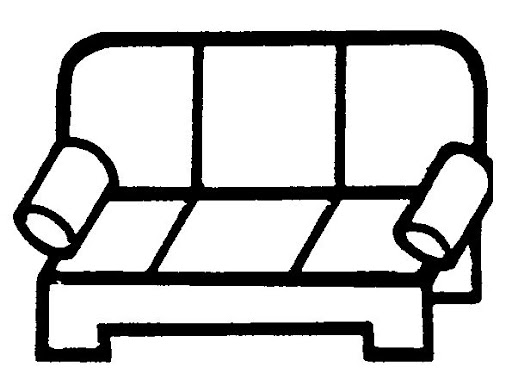 coloring pages couch - photo #30