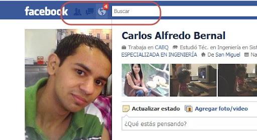 No funciona el clic izquierdo en Facebook
