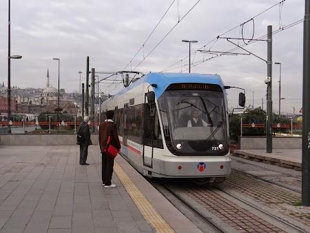 Tramvaiul din Istanbul