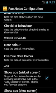 FastNotes Sticky Note Widget screenshot 5
