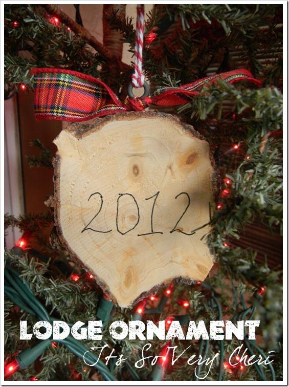 Lodge Ornament