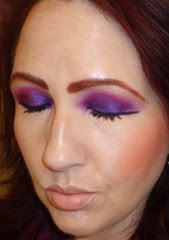 Look1 Full Face With Urban Decay Electric Palette_eyes closed