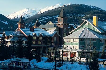 Statiuni schi: Whistler Town