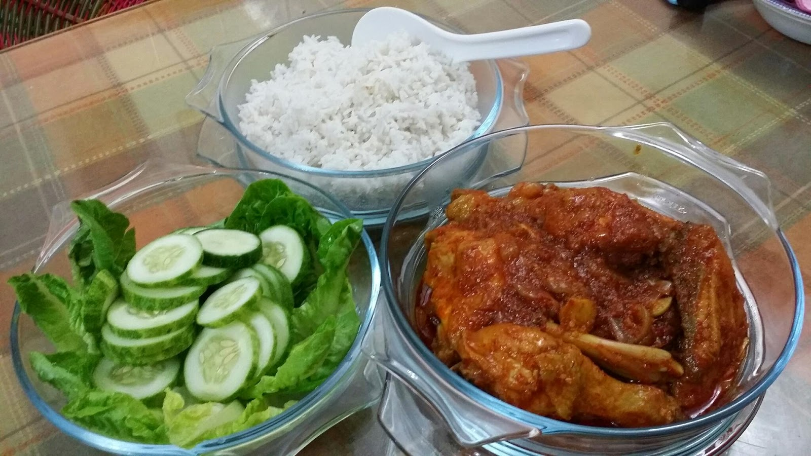 cara masak nasi lemak guna periuk elektrik