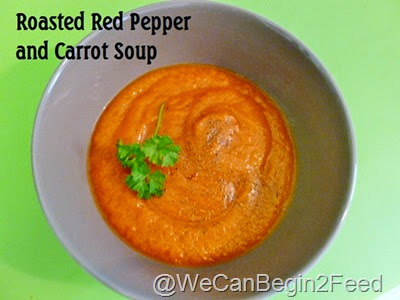 Roasted Red Pepper and Carrot Soup