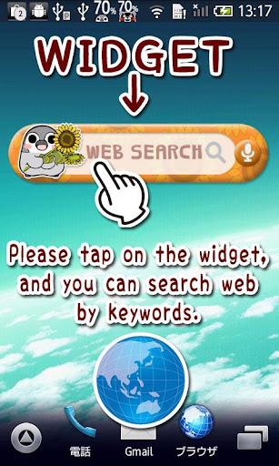 Pesoguin web search widget sun 1.0 Windows u7528 1