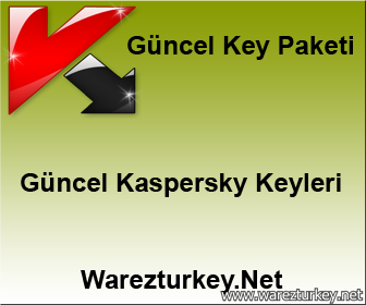 18 Nisan 2018 Güncel Kaspersky Key Paketi