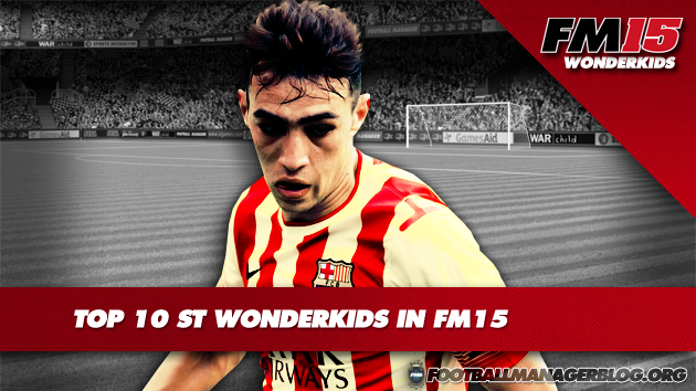 Top 10 ST Wonderkids in FM15