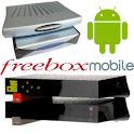 Télécommande Freebox logo
