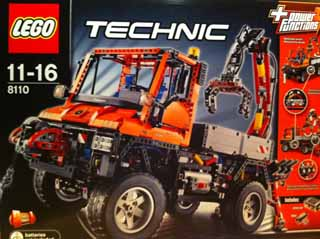 LEGO 8110: UNIMOG