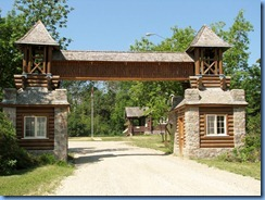 2159 Manitoba Hwy 19 West Riding Mountain National Park - Historic East Gate & Gatekeeper's cottage
