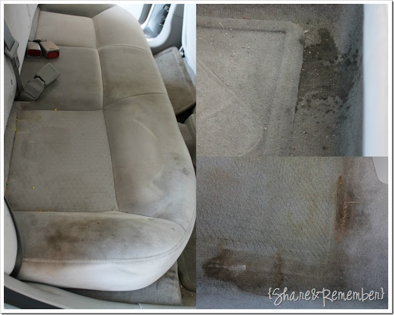 Car Seat Stain Remover >> Cleaning The Car Upholstery Is Easywith Oxiclean Versatile