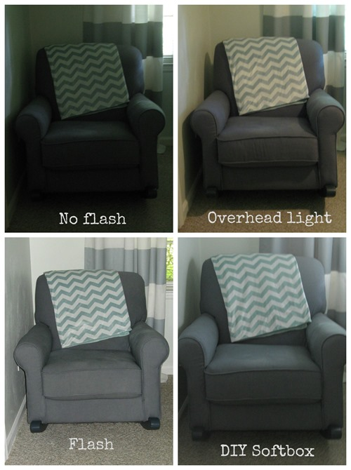 at home photography lighting comparison