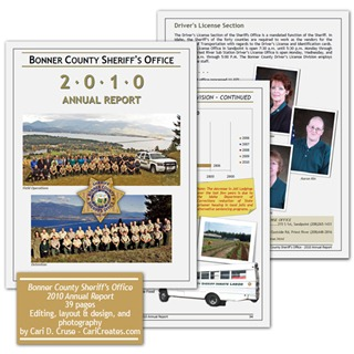 Bonner County Sheriff 2010 Annual Report