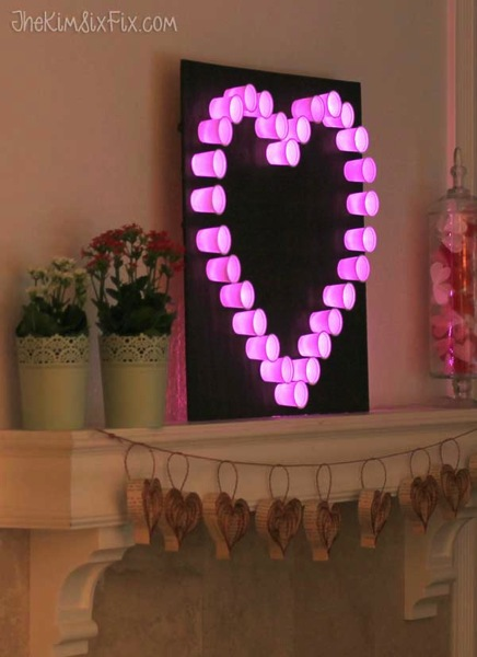 Keurig Cup Heart Light