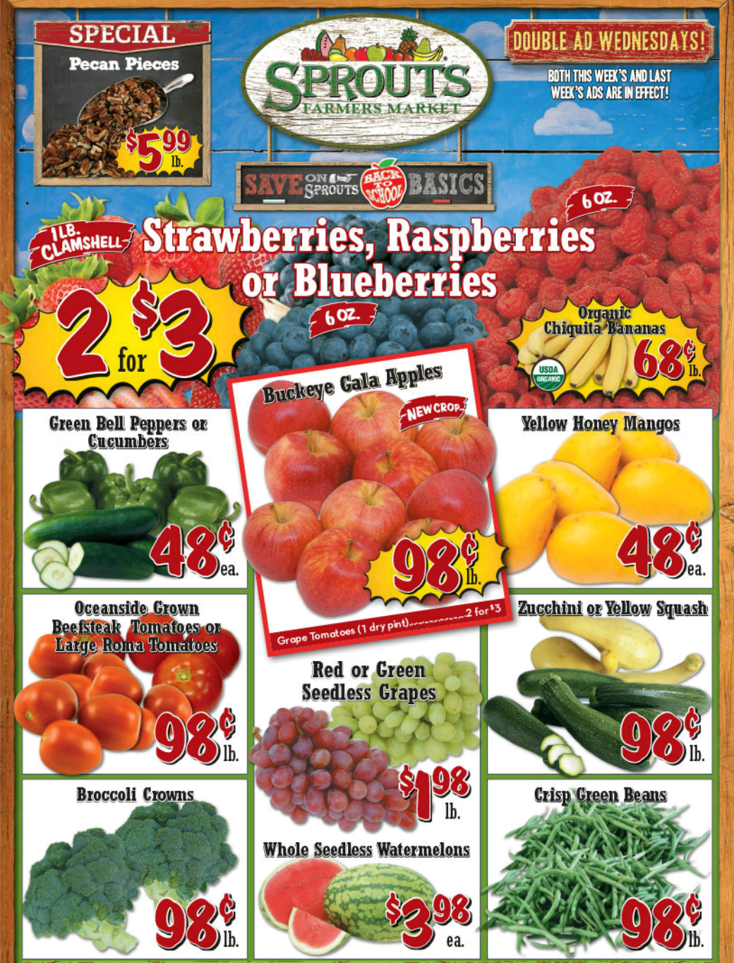 Melissa's Coupon Bargains: Sprouts Weekly Ad Deals this Week 8/6