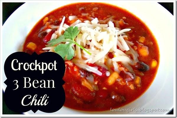 crockpot 3 bean chili